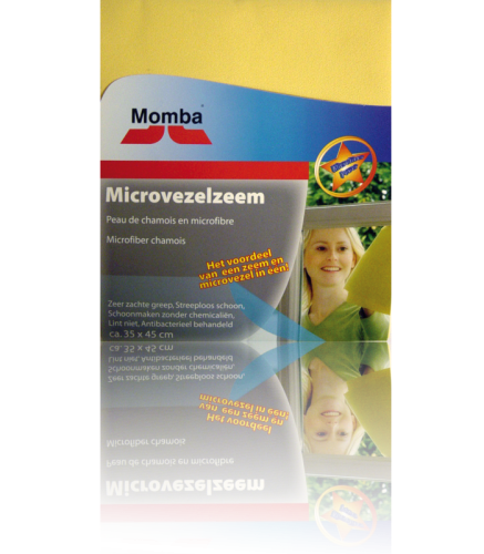 Momba Microfiber Glass and Dust Cloth